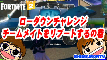 【Fortnite】ぱぴモンのローダウンチャレンジチームメイトをリブートするの巻